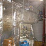 Dämmung der Lüftungsanlagen mit Mineralwolle und Aluminiumblech_3